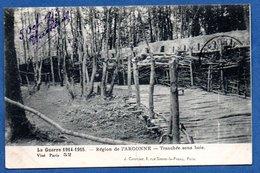 Argonne  -  Tranchée Sous Bois - Weltkrieg 1914-18