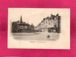 36 Indre, Argenton, La Place D'Armes, Animée, Commerces, 1903, (Quesnel) - France