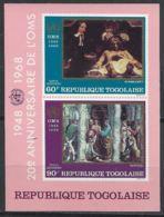 Togo YT Bloc 31 XX / MNH Art Rembrandt Raphael Santé Oms Who - Togo (1960-...)