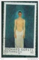 2013 -  3083 - ° -  Mod. Kunst Selbstbildnis Als Halbakt; Gemälde Von Richard Gerstl (1883-1908) - 1945-.... 2. Republik