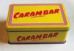 Belle Boîte Métallique Carambar Caramel Boite Vintage De Collection - Scatole