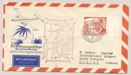 Deutschland / Berlin - 1956 - Lufthansa First Flight Berlin - Istanbul - Beirut - Covers