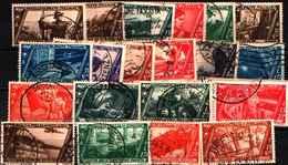 83512) ITALIA-Decennale Della Marcia Su Roma - POSTA AEREA - +ESPRESSI-SERIE COMPLETA-USATA - 4. 1944-45 Repubblica Sociale