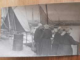 Douarnenez.photo Rigide Format Carte Postale 9*14 Vers 1950 Numérotée Au Dos 91-21 - Douarnenez