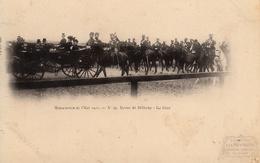 Thématiques 2018 Commémoration Fin De Guerre 1914 1918 Manoeuvre De L'Est 1901 Revue De Bétheny Le Tsar Le Czar Pub - Guerre 1914-18