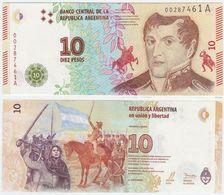 Argentina P 360 - 10 Pesos 2015 - UNC - Argentina