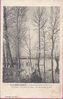 -- 89 -- VILLIERS VINEUX -- L'ARMANCON PENDANT LA CRUE DE 1910-VUE PRISE A LA FOSSE AUX PAGES -- 1915 - France