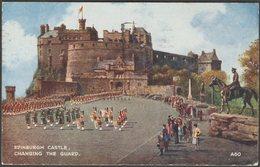 Changing The Guard, Edinburgh Castle, 1951 - Valentine's Postcard - Midlothian/ Edinburgh