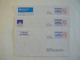 Prêt à Poster Réponse, POSTREPONSE  20g, Lettre Prioritaire, Ciappa-Kavena, 3 Enveloppes Neuves, TB. - Entiers Postaux