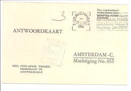 Groen Portstempel 003 Cent Amsterdam Stempel Aanzienlijk Duidelijker Dan Op Scan!Antwoordbriefkrt. - Period 1949-1980 (Juliana)