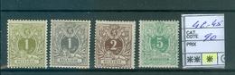 42-45 X Côte 90€ - 1869-1888 Lying Lion