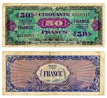 FRANCIA 50 FRANCHI ALLEATI 1944 (14/12C) - Andere