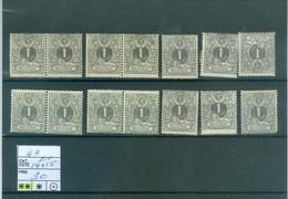 43  14x   Xx Côte 210€ - 1869-1888 Lion Couché (Liegender Löwe)