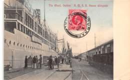 Afrique Du Sud -  Topo / 121 - The Warf Durban - R.M.S.S Saxon Alongside - Belle Oblitération - Afrique Du Sud