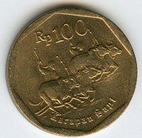 Indonesie Indonesia 100 Rupiah 1996 KM 53 - Indonésie