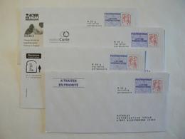 Prêt à Poster Réponse, POSTREPONSE  20g, Lettre Prioritaire, Ciappa-Kavena, 4 Enveloppes Neuves, TB. - Entiers Postaux