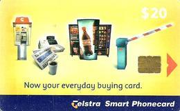AUSTRALIA $20  COKE  COCA COLA BUYING  CARD  TELEPHONE CODE:99/47P  CHIP  SCARCE 2000  ONLY !!!READ DESCRIPTION !! - Australie