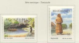 PIA  -  BELGIO  -  1996  : Serie Turistica  - (Yv  2640-41) - Belgique