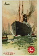 "Red Star Line - AK Postcard - Ss ""Finland"" - Steamers"