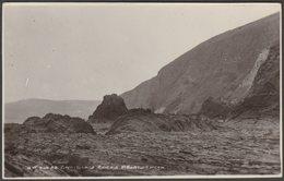 Craiglais Rocks, Aberystwyth, Cardiganshire, C.1920s - Dania Series RP Postcard - Cardiganshire