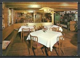 Deutschland BERNAU Gasthof Zum Adler Interieur Innenansicht Sent 2000 With Stamp - Hotels & Restaurants