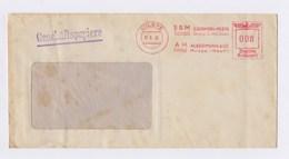Beleg, Umschlag AFS - MILSPE, ESM Temperguss, Eisenwerk Ackermann & Co. 1942 - Deutschland