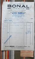 38 ST LAURENT DU PONT 94 ALFORTVILLE 54 JARNY  BONAL  Conge - Factures