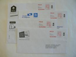Prêt à Poster Réponse, POSTREPONSE  PRIO 20g, Lettre Prioritaire, Ciappa-Kavena, 4 Enveloppes Neuves, TB. - Entiers Postaux