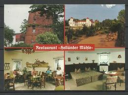 Deutschland Restaurant Holländer Mühle Rheinsburg (gesendet 2000, Mit Briefmarke) NB! Leichte Knicken! - Hotels & Gaststätten