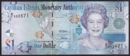 Cayman Island 1 Dollar 2010 P38a UNC - Isole Caiman