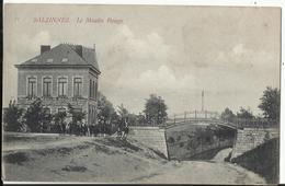 SALZINNES - Le Moulin Rouge 1915 Cachet De Censure ! Laiterie ! - Namen