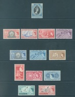 BERMUDA - MH/*. - 1953-1956 - SEE SCANS 2 STAMPS GRATIS - Yv 132 134 136 138 139 143-147 149 -  Lot 18406 - LOW PRICE - Bermudes