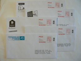 Prêt à Poster Réponse, POSTREPONSE  PRIO 20g, Lettre Prioritaire, Ciappa-Kavena, 5 Enveloppes Neuves, TB. - Entiers Postaux
