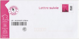 France : Enveloppe PAP Neuve En Lettre Suivie 20g. - Entiers Postaux