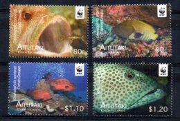 Aitutaki - 2010 - Endangered Species/Groupers - MNH - Aitutaki