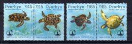 Penrhyn - 1995 - Year Of The Sea Turtle - MNH - Penrhyn