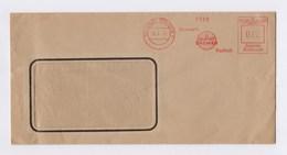 Beleg, Umschlag AFS - SEESTADT ROSTOCK, Eisenwerk Draht Bremer, 12Pfg, 6.4.43 - Deutschland