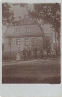 Foto AK Unbekannte Stadt WW1 Krieg 1914 Haus Villa Gaslaterne Berlin Preussen Hamburg Sachsen Anhalt Böhmen Schlesien ? - Ansichtskarten