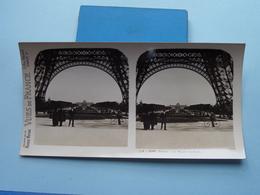 PARIS : Le Champ De Mars : S. 8 - 3187 ( Maison De La Bonne Presse VUES De FRANCE ) Stereo Photo ! - Photos Stéréoscopiques