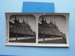PARIS : La Gare Du Nord : S. 6 - 3252 ( Maison De La Bonne Presse VUES De FRANCE ) Stereo Photo ! - Photos Stéréoscopiques