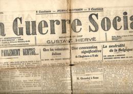 France. La Guerre Sociale   12/1/1915 - Informations Générales
