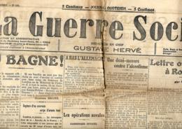 France. La Guerre Sociale  9/1/1915 - Informations Générales