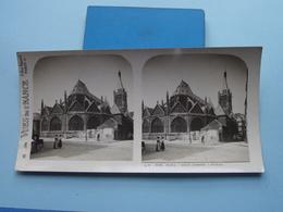 PARIS : Saint Severin - Abside : S. 2 - 3021 ( Maison De La Bonne Presse VUES De FRANCE ) Stereo Photo ! - Photos Stéréoscopiques