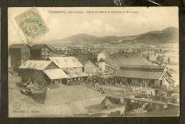 CP-CHAMBARET , Prés Langeac - Dépôt Des Mines De Charbon De Marsanges - Andere Gemeenten