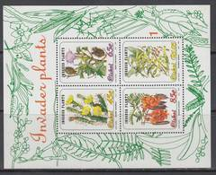 D101006 Ciskei 1993 South Africa Flowers INVASIVE PLANTS M-s MNH - Afrique Du Sud Afrika RSA Sudafrika - Ciskei