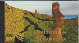 United Nations Prestige Booklet - 2007 - Vienna - World Heritage South America - Rapa Nui - Tiwanaku - Cueva De Las Mano - Boekjes