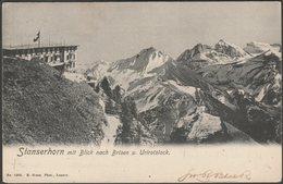 Stanserhorn Mit Blick Nach Brisen Und Urirotstock, 1904 - Goetz AK - NW Nidwalden
