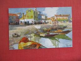 ESTUARIO -Buurano- Signed Artist Ref 3087 - Italy