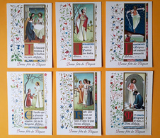 Lot De 6 CP - Bonne Fête De Pâques - Réligion - Mediatrix Genval - Pasqua