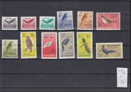 Birma (BBK) Michel Cat.No. Mnh/** 177/188 Birds - Myanmar (Birmanie 1948-...)